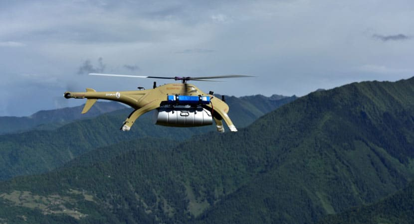 Blowfish A2 Heavy-Lift VTOL UAV