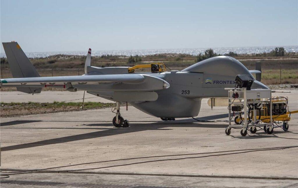 Heron maritime surveillance UAV