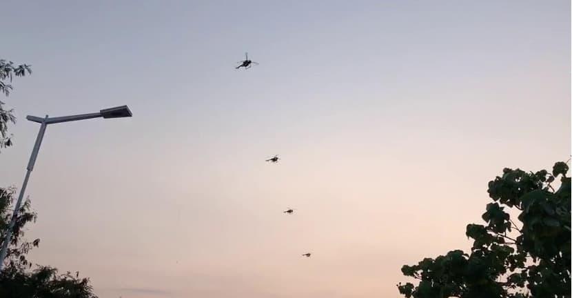 Intelligent Drone Swarming Module