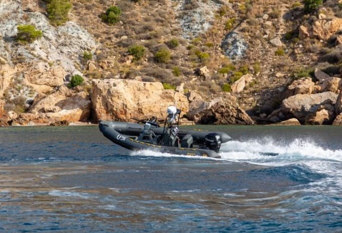 Maritime defense and security USV