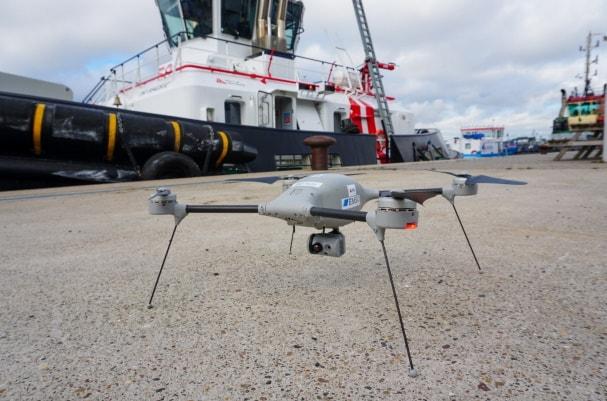 UAS monitoring at Port of Antwerp