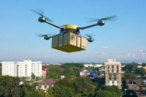 Communications for autonomous drone delivery fleets