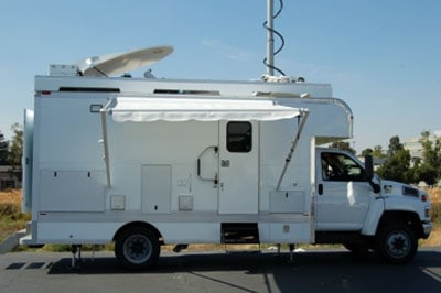 ARS mobile drone command center