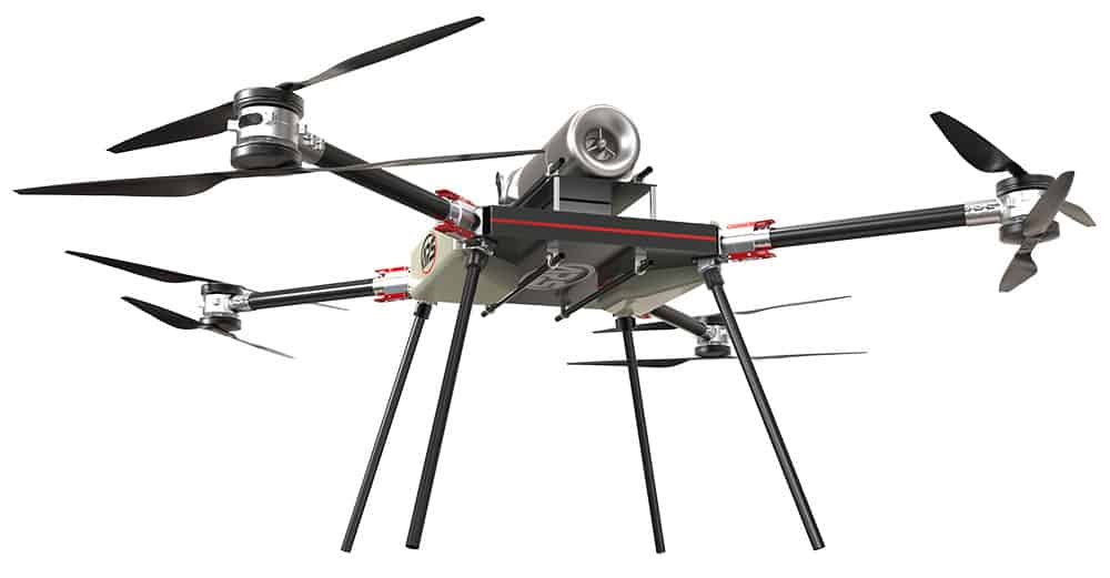 Long range drones for disaster response