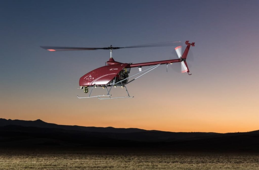 UAVOS heavy-lift helicopter UAV