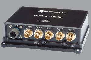 Hydra 1004R Rugged 3G-SDI 1x4 video splitter