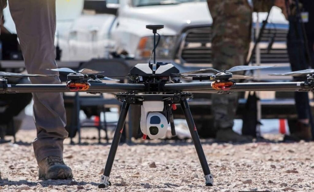 SSCI RAPTOR autonomous UAV