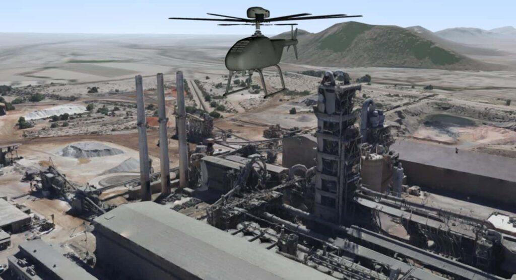 Steadicopter Simlat UAV training simulation