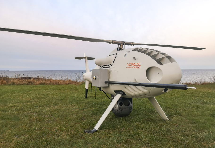 CAMCOPTER S-100 UAS selected by Nordic Unmanned