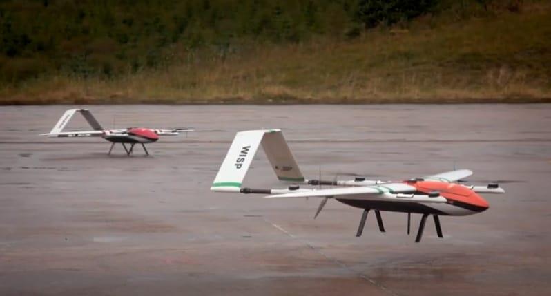 Dstl drone swarming