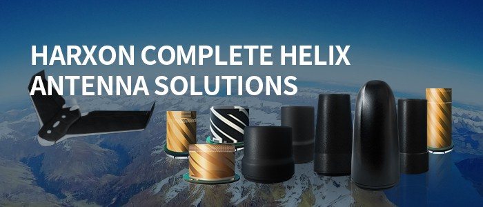 High-precision GNSS Helix antennas for UAVs