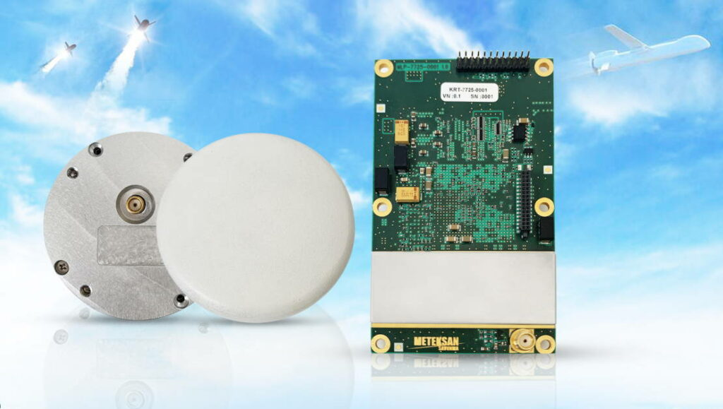 Meteksan GNSS Receiver & Antenna