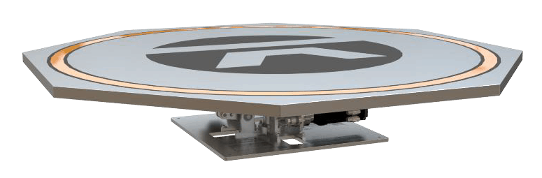 Drone Launch & Landing Platforms, Stabilized UAV Take-Off Pads