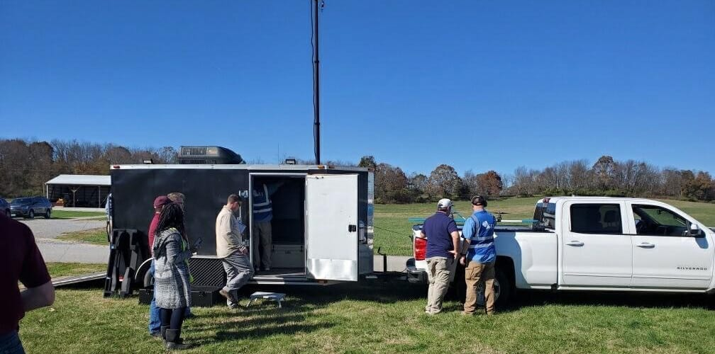Censys MOC drone command trailer