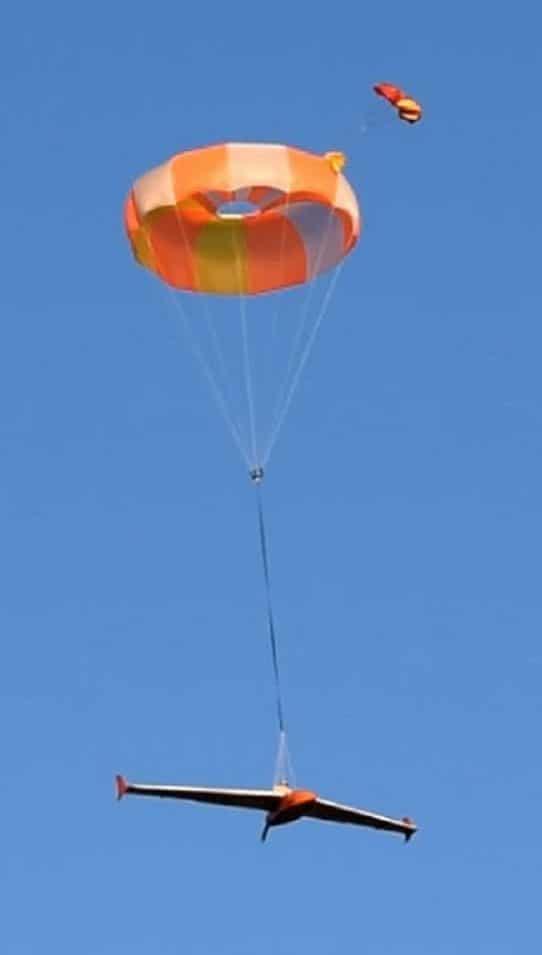 ElevonX Guardian Drone parachute system