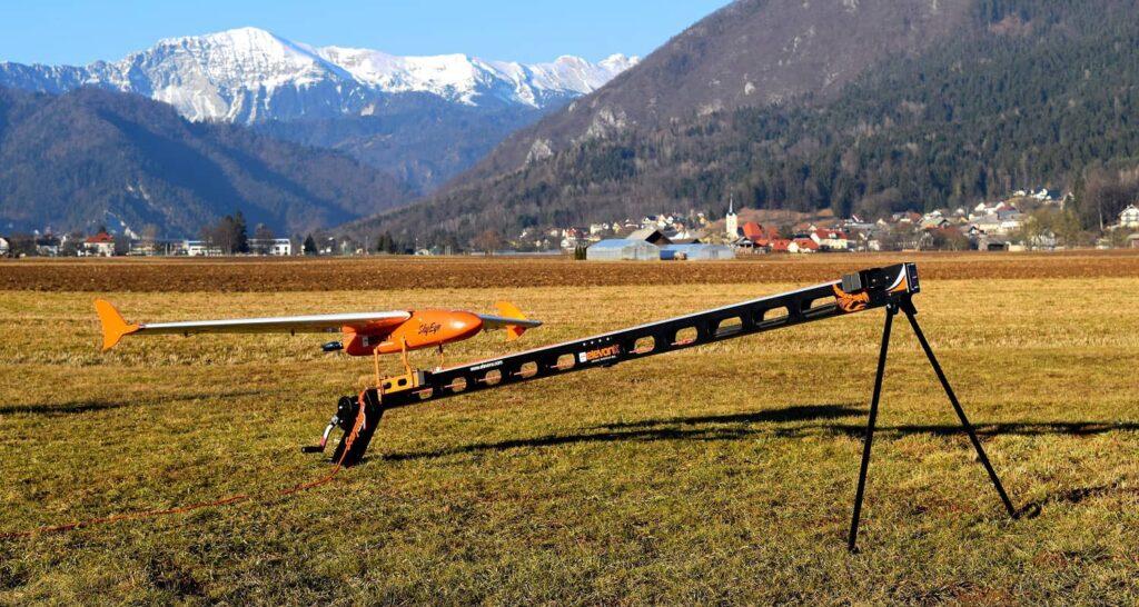 ElevonX Scorpion drone launcher