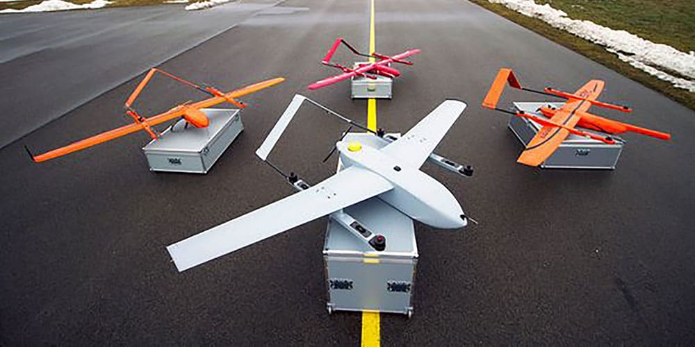 Fixed wing VTOL UAVs