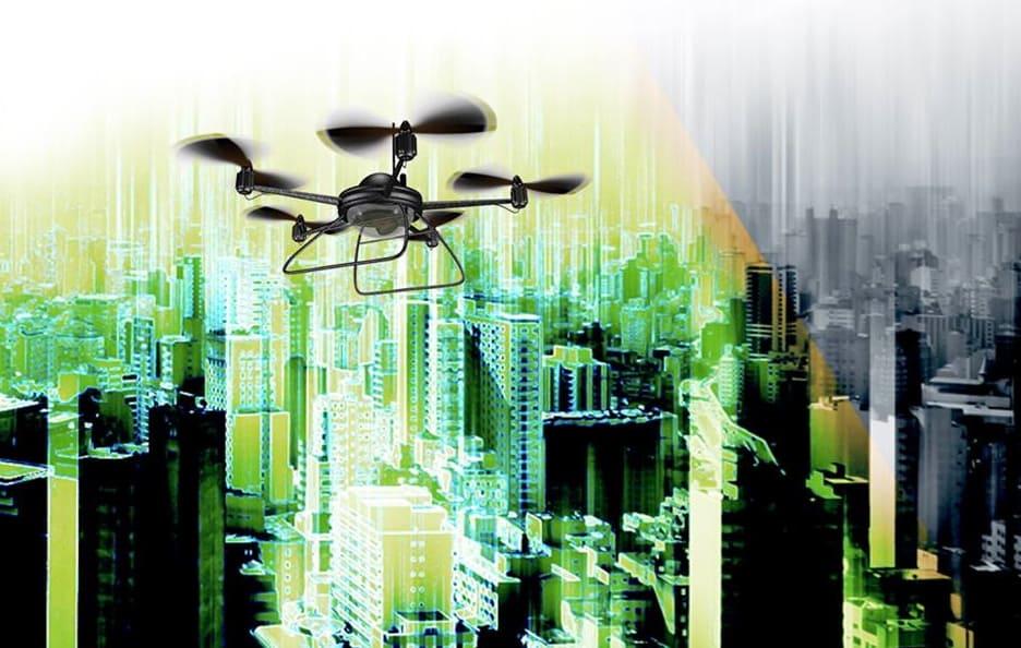 LighWare lidar for drones