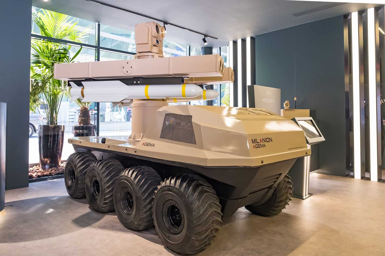 military unmanned ground vehicle
