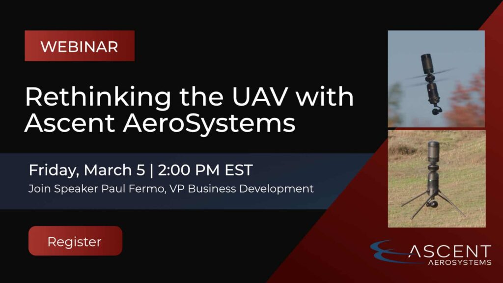 Rethinking the UAV Webinar with Ascent AeroSystems
