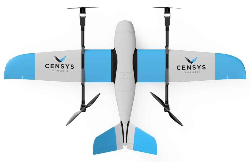 Sentaero v2VTOL fixed wing drone