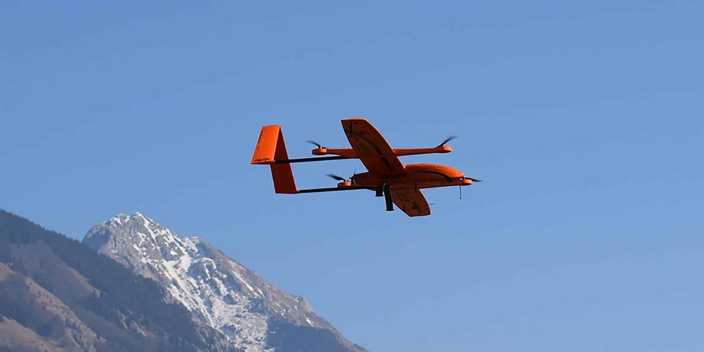 SkyEye Sierra VTOL Fixed-Wing UAV