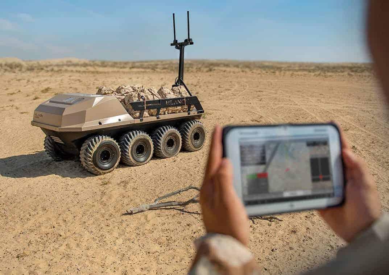 UGV Autonomous control system