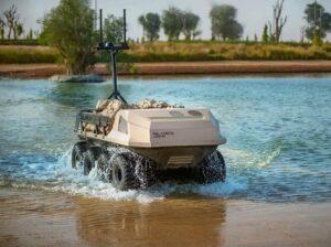 Unmanned Amphibious Vehicle