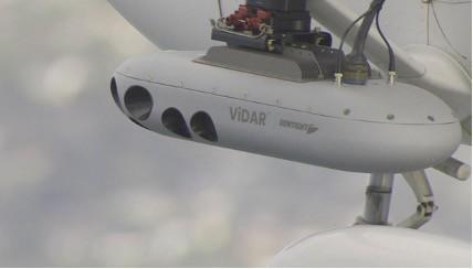 ViDAR VMS pod flight
