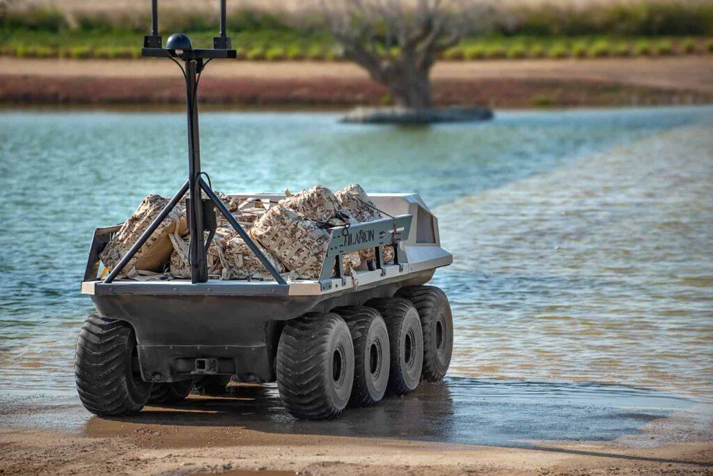 autonomous ground vehicle