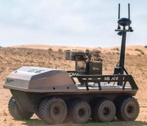 unmanned military vehicle