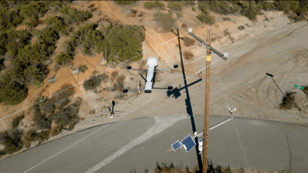 Drone utility inspection
