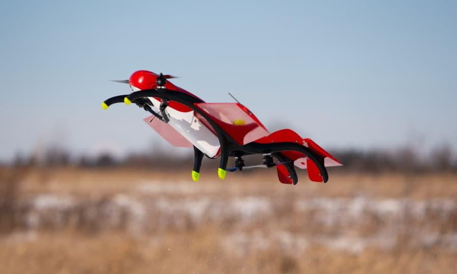 FIXAR 007 hybrid VTOL drone