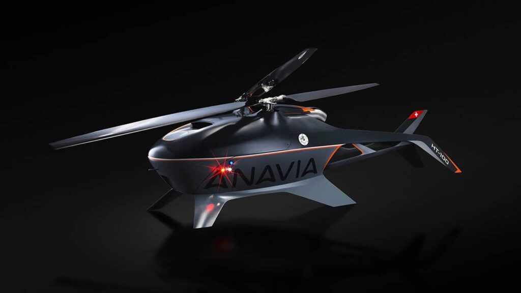 HT-100 Long-Range Unmanned Helicopter