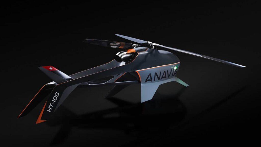 HT-100 Long-Range autonomous helicopter