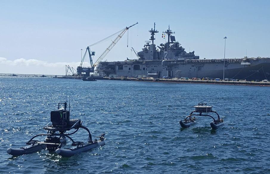 Marine Advanced Robotics ASV