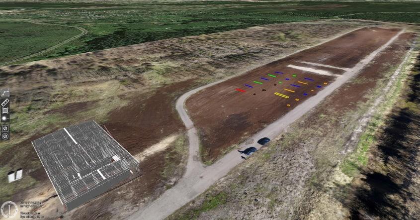 SPH Engineering drone test range