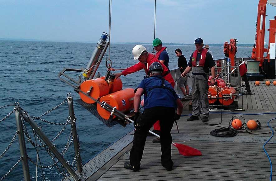 Sonardyne seabed monitoring