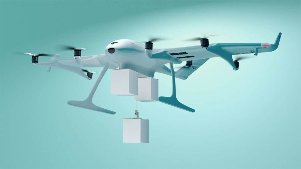 Wingcopter 198 delivery drone