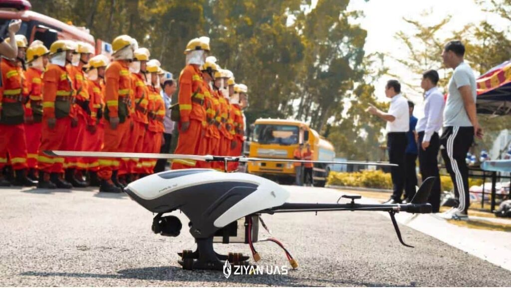 Ziyan UAS Public Safety Unmanned Helicopter