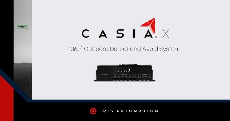 Casia360 UAV detect and avoid system