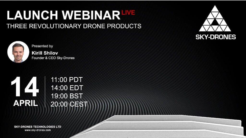 Three Revolutionary Drone Products