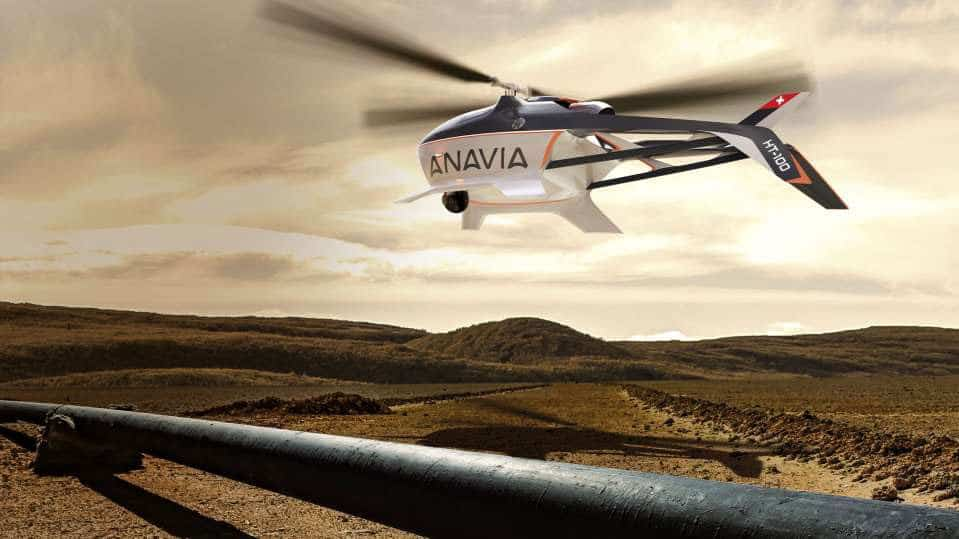 unmanned helicopter for surveillance