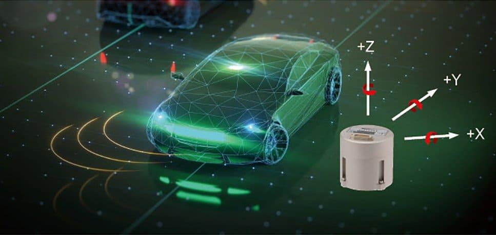 3 axis imu autonomous vehicle