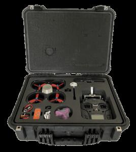 FIXAR Indoor UAV in the case