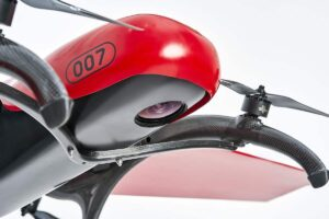 Hybrid VTOL drone