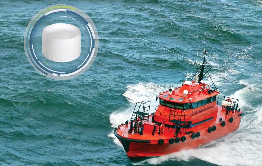 NovAtel marine GPS anti-jammer