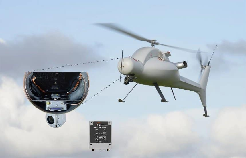 Sagetech DAA on helicopter drones