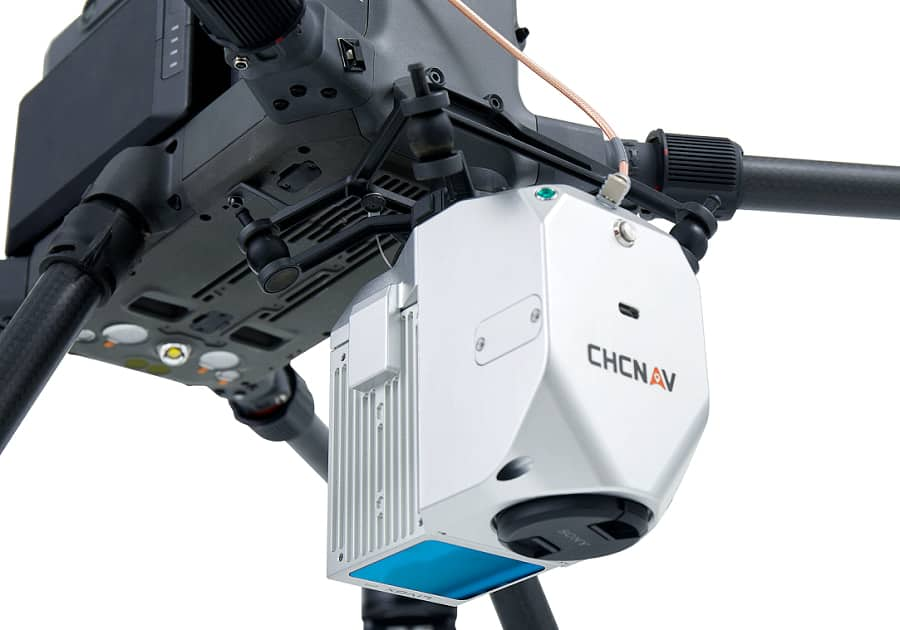 AlphaAir 450 UAV mobile mapping system