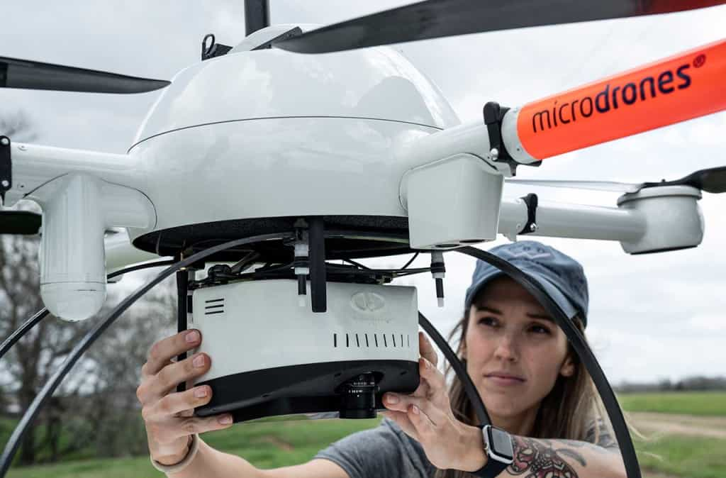 Drone LiDAR boundary surveying